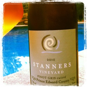 Stanners Vineyard 2010 Pinot Gris Cuivre