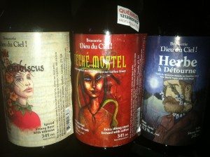 A few of the beers