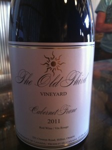The Old Third 2011 Cabernet Franc