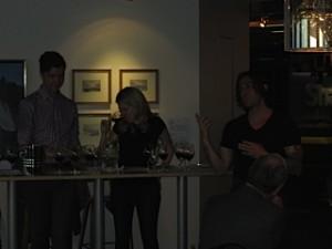 Chef Rodriguez explains each course
