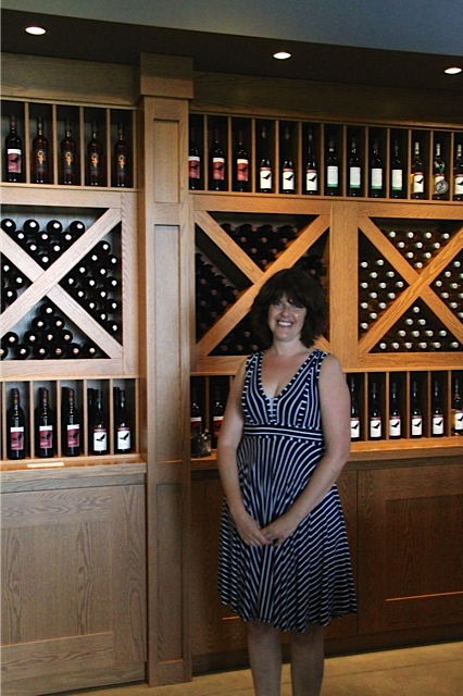 Winemaker Rori McCaw at Coopers Hawk