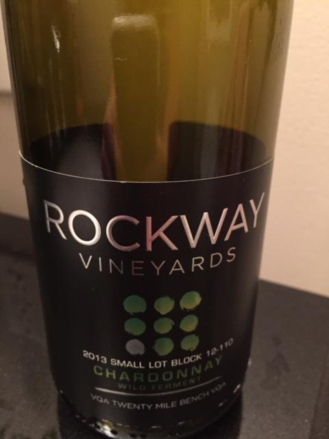 Rockway 2013 Wild Ferment Chardonnay