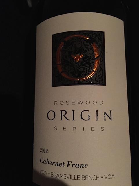 Rosewood Estates 2012 Origin Cabernet Franc