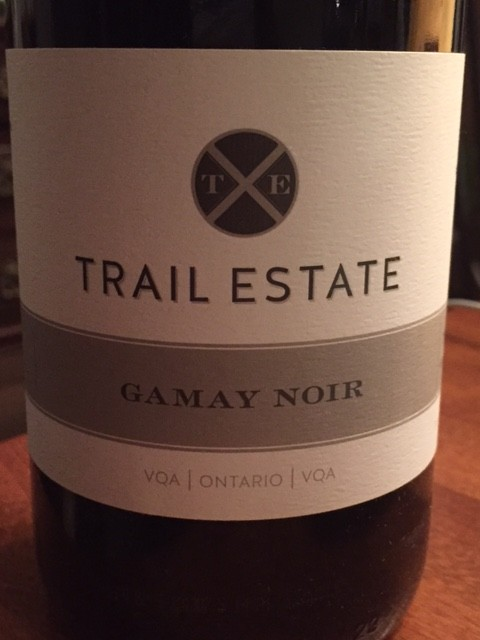 2014 Trail Estate Winery Gamay Noir