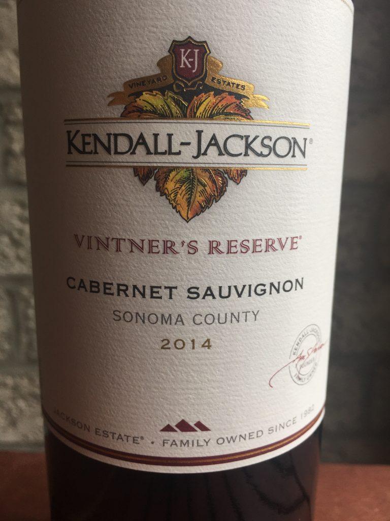 2014 Kendall-Jackson Vintner's Reserve Cabernet Sauvignon